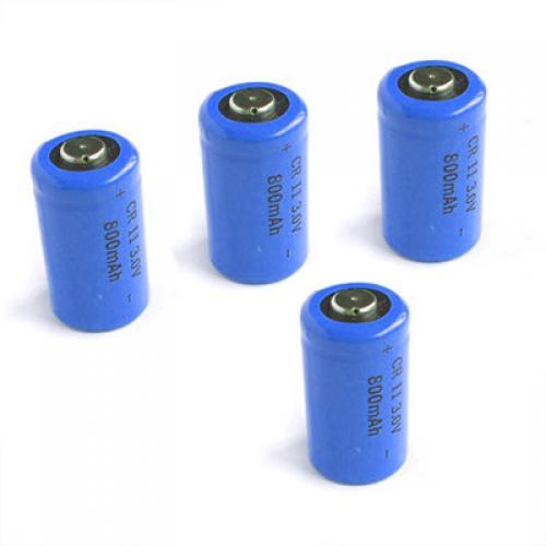 4 x 800mAh Lithium Photo Battery CR2 Battery