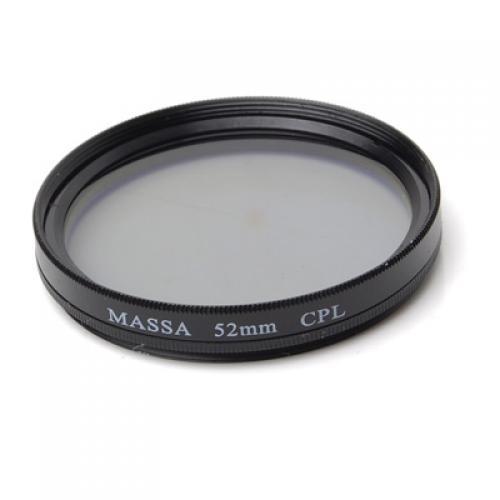MASSA 52mm CPL Filter for Camera Camcorder DV