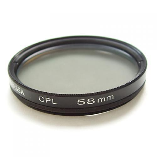 MASSA 58mm CPL Filter for Canon Digital Video