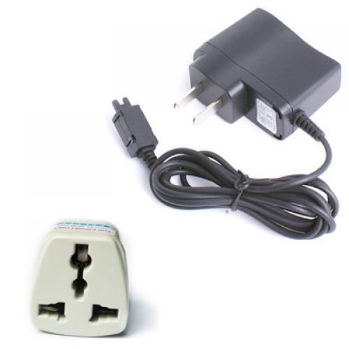UK Plug and US Travel Charger for Motorola V6x V70 V120 V300 V400 V500 V525 V270 V280 T72x