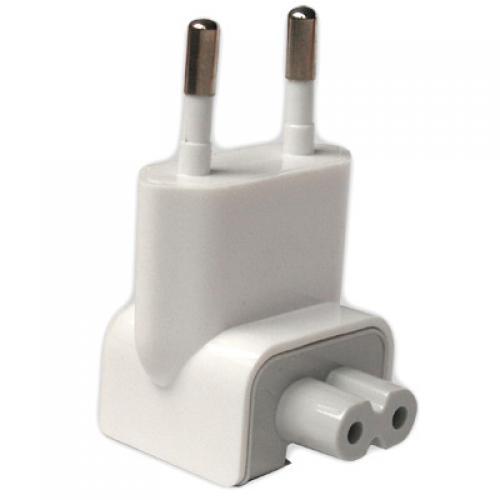 2 Pack EU AC Plug for Apple A1021 / M8943LL/A / A1036 / M8482 Adapter