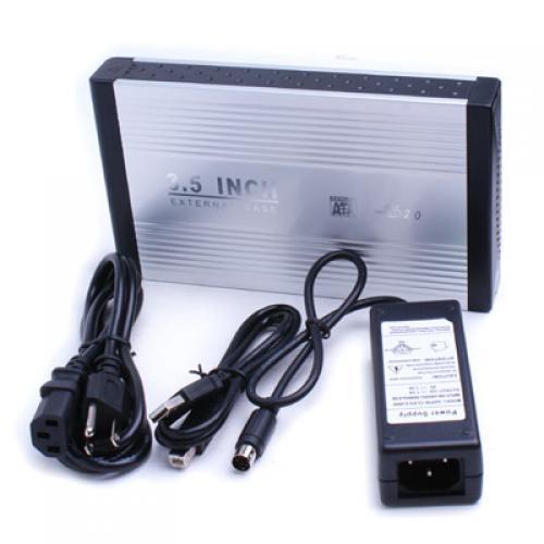 3.5 External HDD Hard Disk Drive Enclosure USB 2.0 IDE-US Plug