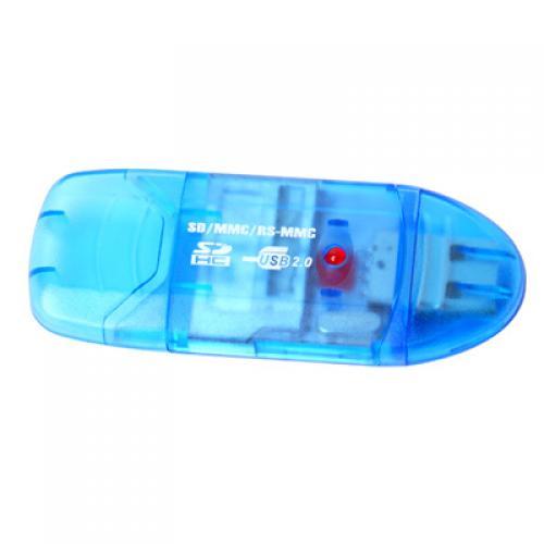 Mini USB 2.0 Memory Card Reader Writer