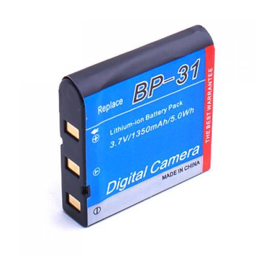 New 1350mAh BP-31 Li-ion Replacement Battery for Sigma DP1 / DP2 Digital Camera