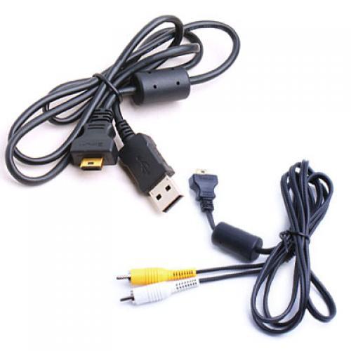 5ft OEM EMC-3A AV cable + 3.2ft OEM USB 2.0 Cable