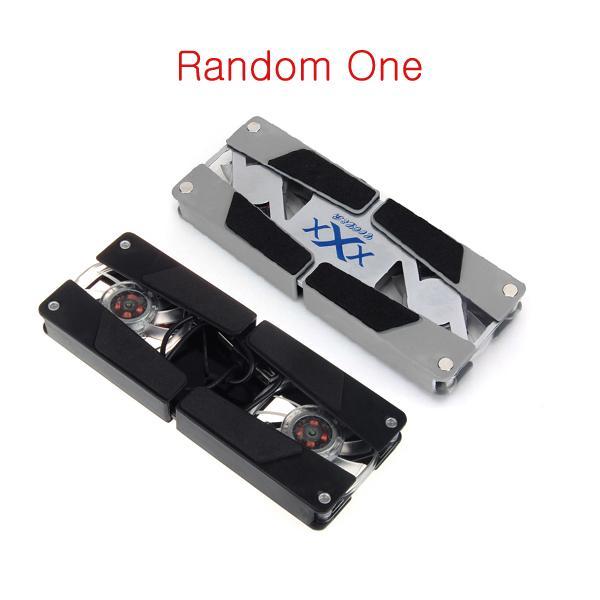 Foldable USB Laptop Notebook Cooler Pad 2 Cooling Fans
