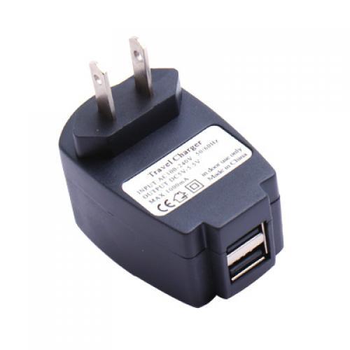5V 1A Dual USB Plug Wall / Home Charger AC Adapter (US Standard)
