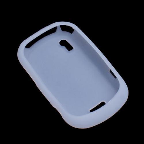 White Silicone Case Cover for Motorola A3100