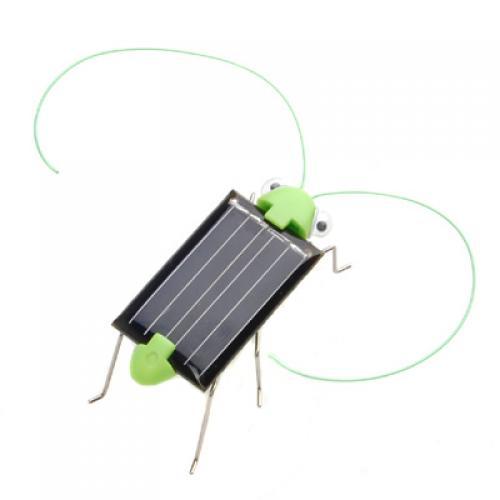 Solar energy powered crazy grasshopper toy free shipping for Grasshopper tattoo supply