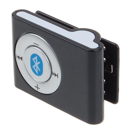 Mini Bluetooth Stereo Headset Clip Handfree on Headphone-US Charger