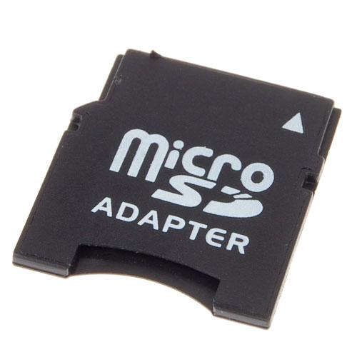 Memory Card Adapter Convertor Black