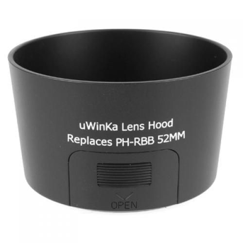 Black Lens Hood for Pentax SMC DA 50-200mm Pentax PH-RBB 52MM Camera
