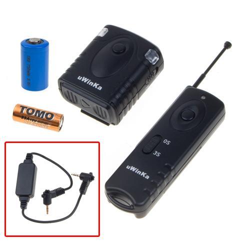 Wireless Remote Shutter for Panasonic GF1 GH1 FZ30K DMW-RS1