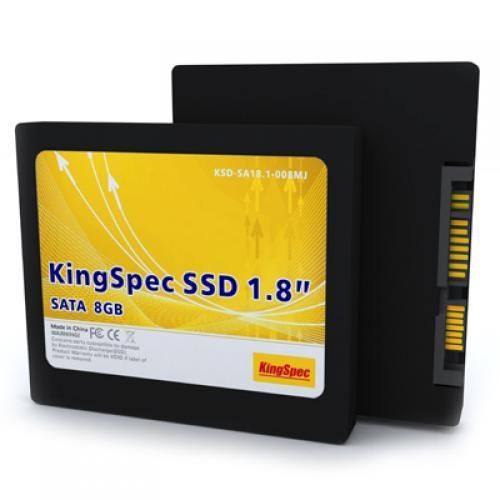 Kingspec 1.8 Inch 8GB SATA II MLC SSD For Laptop
