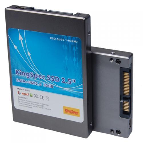 KingSpec 2.5 Inch 32GB SATA Ⅱ and Mini-USB MLC SSD