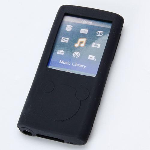 Black Silicon Soft Case for Sony Walkman NWZ E453 / E454 / E455 / E353 / E354 / E355
