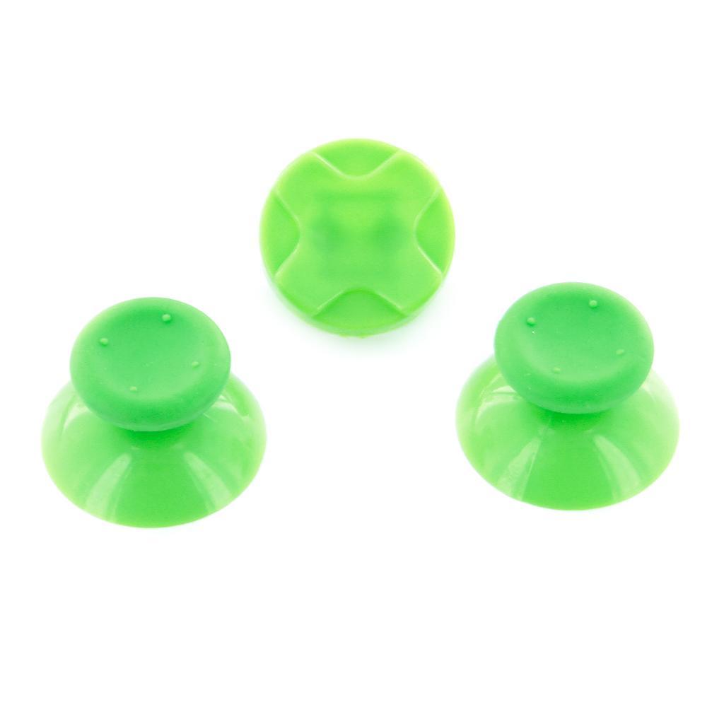 2x Xbox360 Controller Thumbsticks w/ D-pad Green