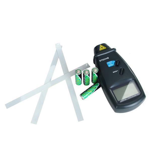 DT6234B Digital Laser Photo Tachometer for Milling Device/Motor