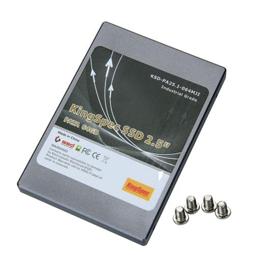 KingSpec KSD-PA25.1-064MJI Industrial Grade PATA MLC 64GB SSD