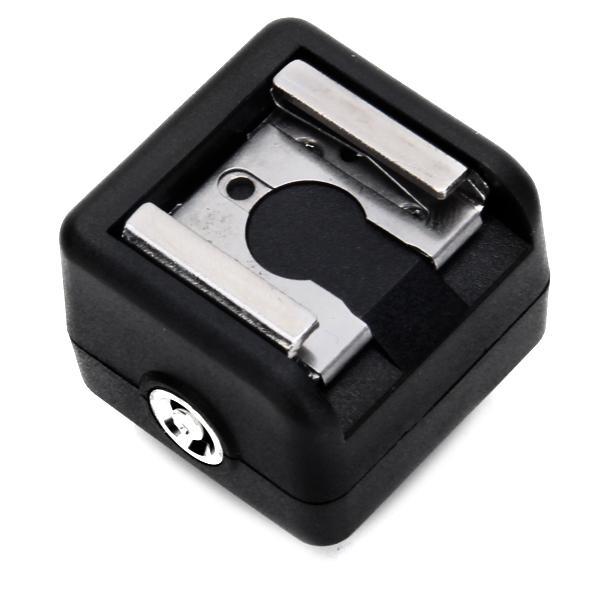 USC-1 Flash Hot Shoe PC Sync Adapter for Nikon, Canon, Pentax, Panasonic