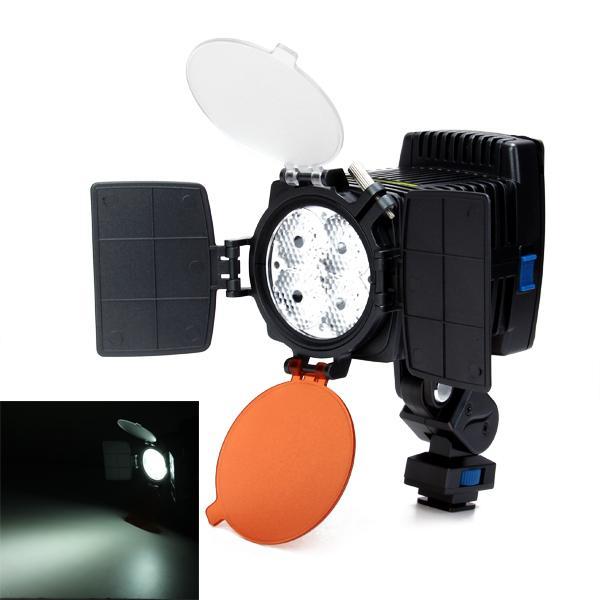 4 x 3 W Professional Video LED Light LED-5005 for Camcorder Camera DV