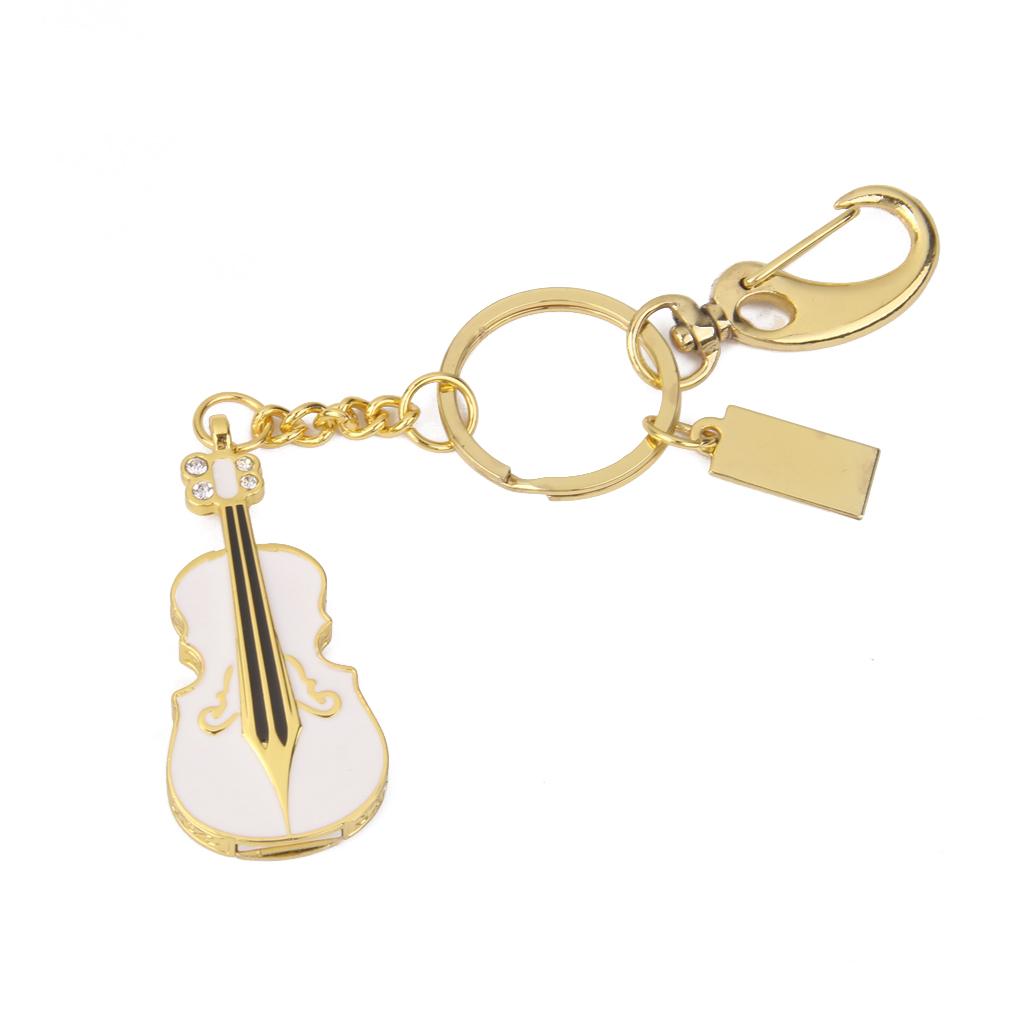 16 GB USB 2.0 Rhinestone Violin Style Flash Drive Flash Disk Pen Drive