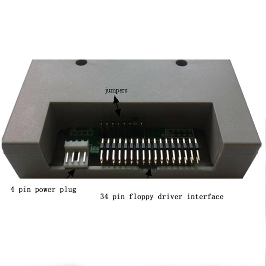 how to make a floppy drive emulator