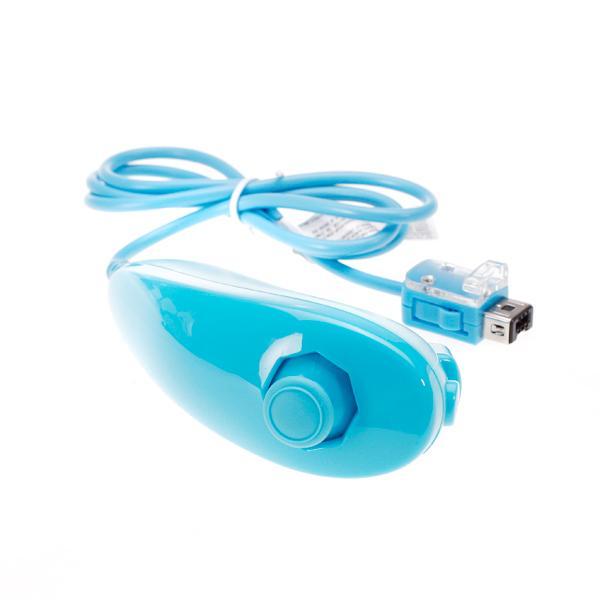 Nunchuck Controller Game Controller for Nintendo Wii - Blue