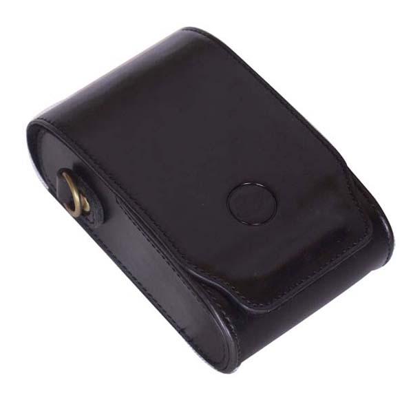 Black PU Leather Bag Case w/ Strap for Leica V-Lux20 V-Lux30 V-Lux40