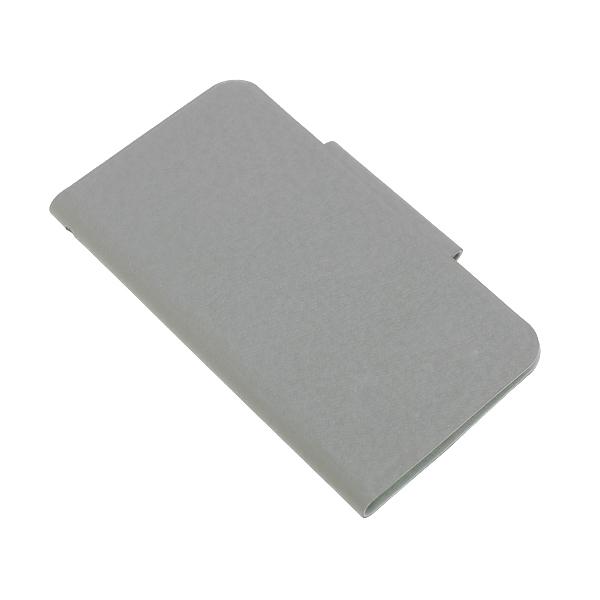 PU Leather Folio Flip Case Cover for Samsung Galaxy SIII i9300 - Gray