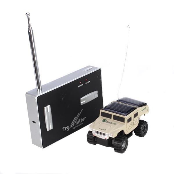 Mini Radio Micro Remote Control Racing Car Rechargeable/ Solar Power