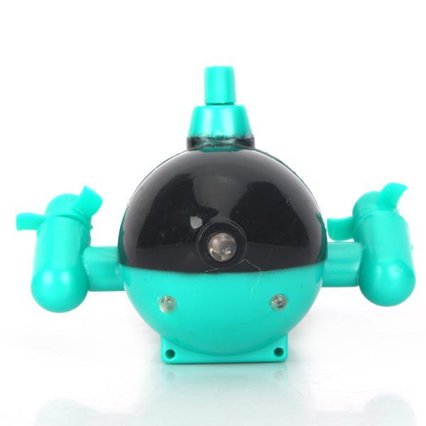 RC Mini Toy Radio Control Submarine - Green