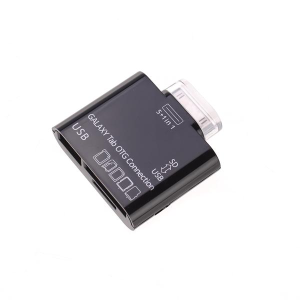 USB + Card Reader Connection Kit for Samsung GALAXY Tab P7500 P7510 P7310 P7300 - Black