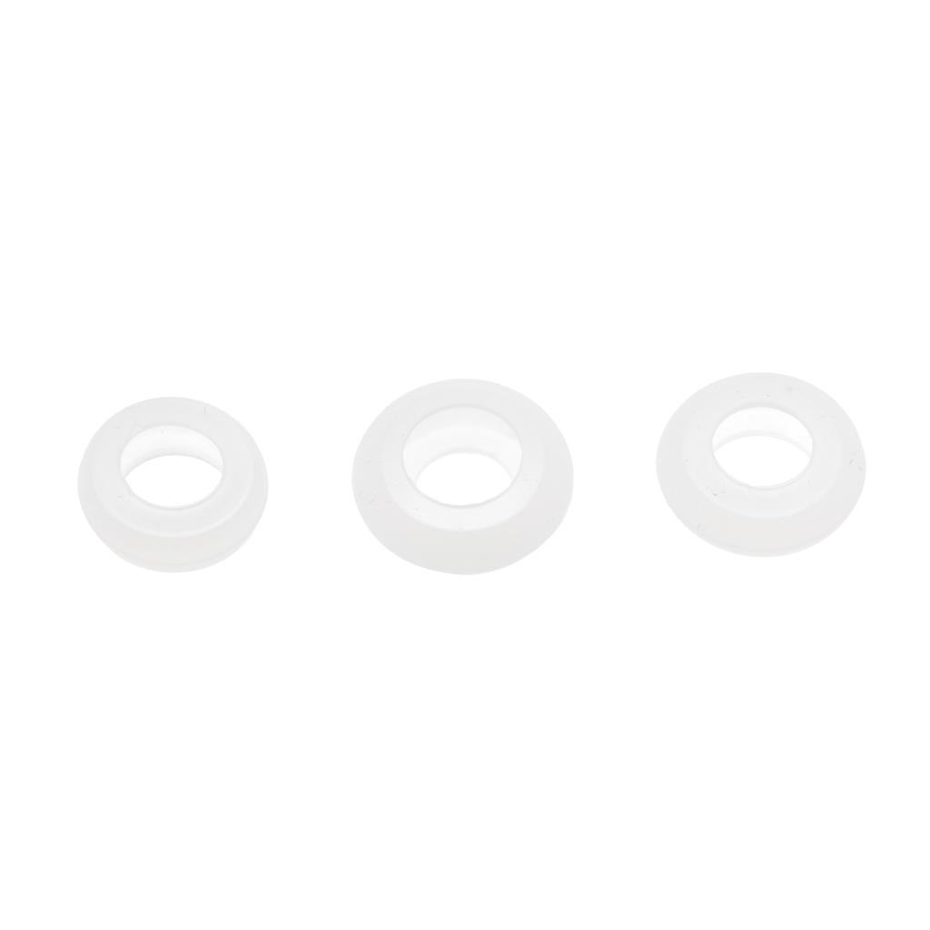 3Pcs S M L Replacement Ear Gels for MOTOROLA ELITE SILVER Bluetooth Headset
