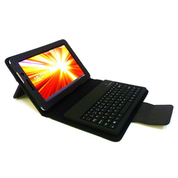 """PU Leather Case w/ Bluetooth Keyboard for Samsung Galaxy Tab 7.7"""" P6800"""