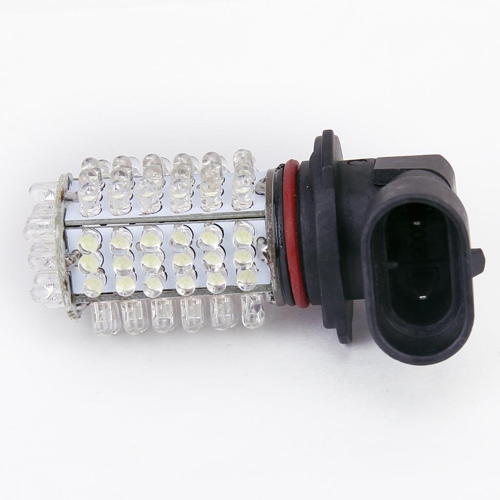 White 9006 105-LED Fog Light Lamp Headlight for Car 12V