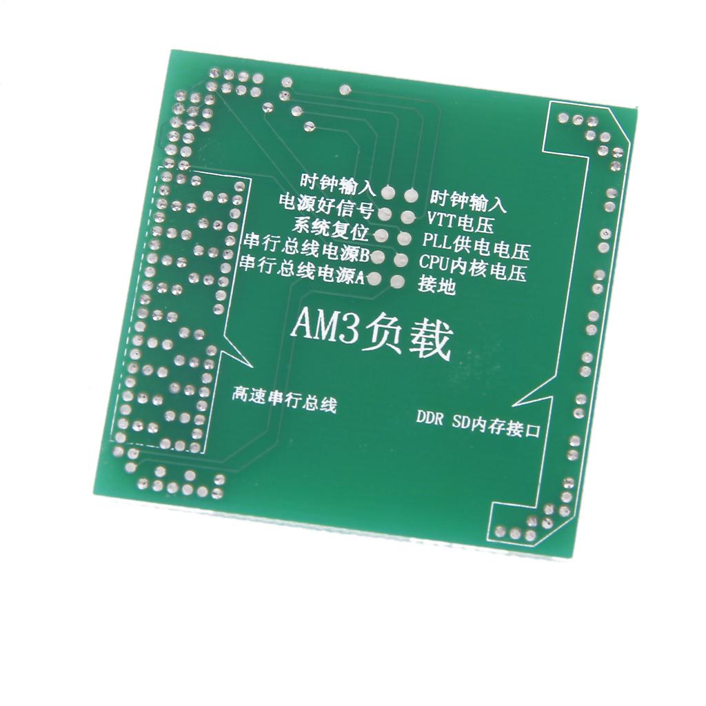 ADM AM3 CPU Dummy Load Motherboard Repair Tools Tester for PC Desktop