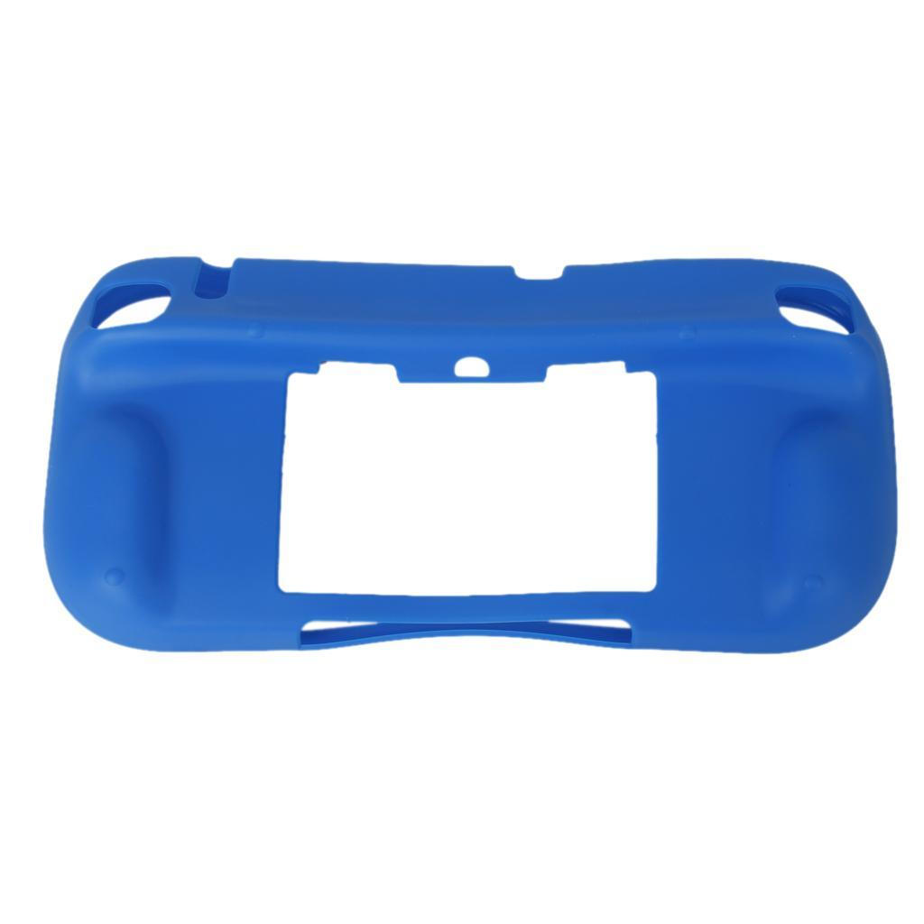 Blue TPU Back Case Cover for Nintendo WII U Wii U Gamepad Controller
