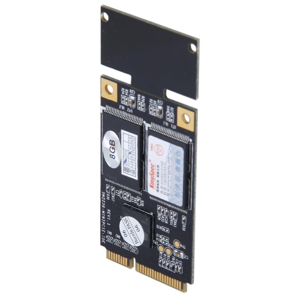 KingSpec PATA MINI PCIE 8GB Solid State Drive MLC SSD KSD-PMP.6-008MJ