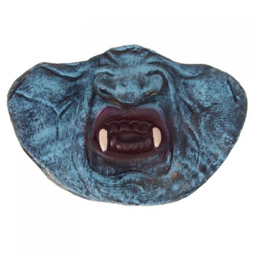 Funny Latex Dracula Vampire Half Mask Halloween Prop