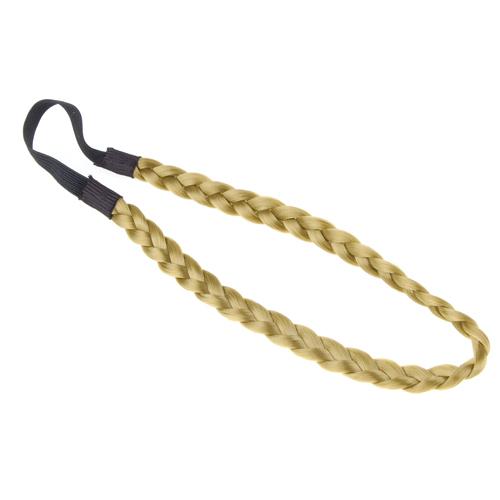 Bohemian Hair Braid Hairwrap Hippie Headband - Flaxen