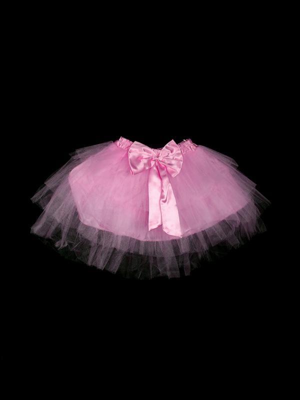 Fairy 4 Layers Princess Ballet Tutu Dress Girl Dance Skirt 2-3 yrs - Pink