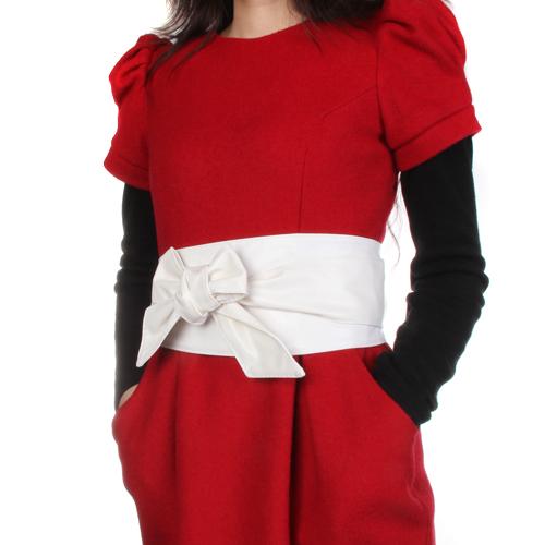 Wholesale Corset Obi Waist Belt For Lady - White
