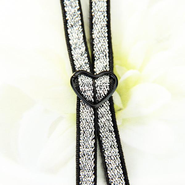 Shiny Style Elastic Cross Back Bra Strap Adjustable - Black