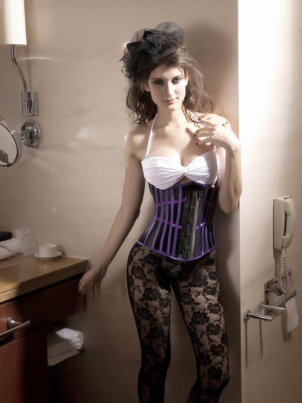 Women Lace Shapewear Body Shape Waistcoat M US6-10 / EU36-40