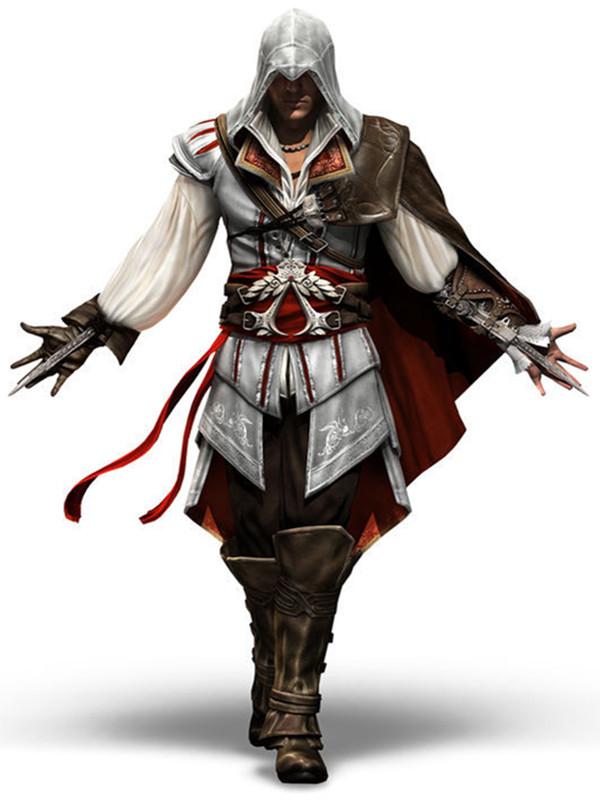 Women's Assassin's Creed Cosplay Master Ezio Costume Anime M