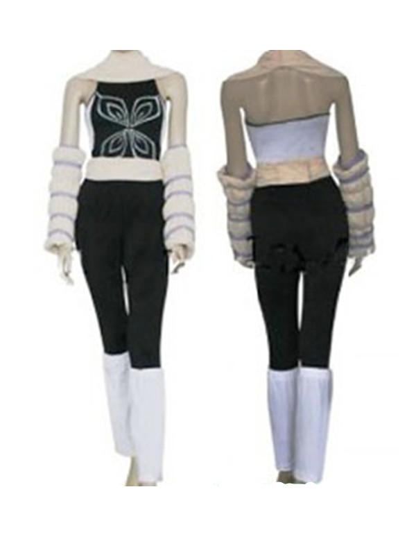 Bleach Yoruichi Cosplay Women's Costume Tailored M Black