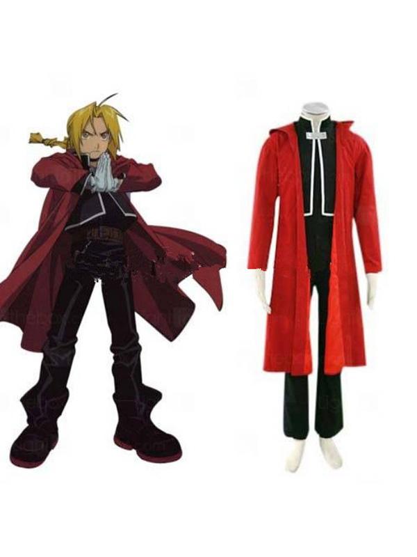 Fullmetal Alchemist Edward Elric Cosplay Costume XL