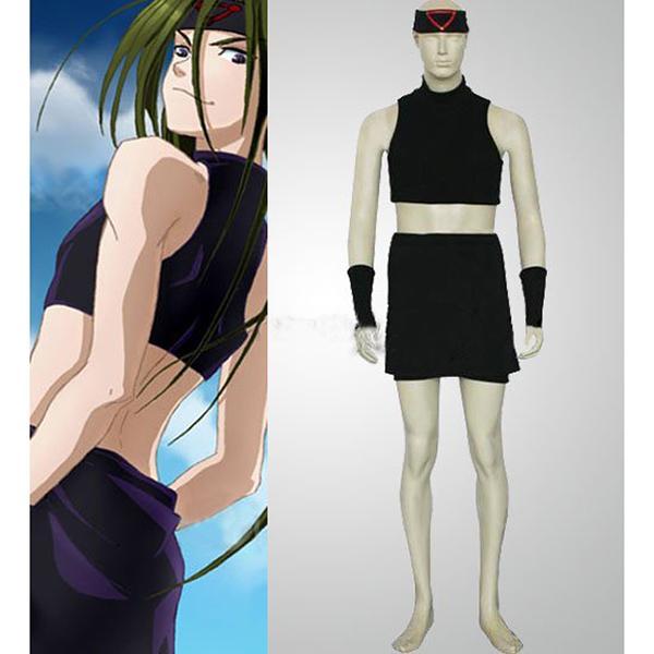 Fullmetal Alchemist Envy Cosplay Costume Black - XXL