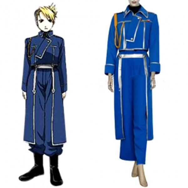 FullMetal Alchemist Riza Hawkeye Military Cosplay Costume Size S